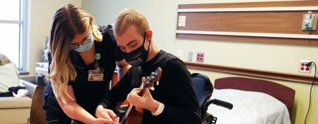 Talented musician doesn't miss a beat in brain injury recovery
