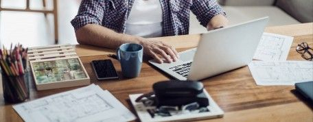 Prevent strain and discomfort while working from home