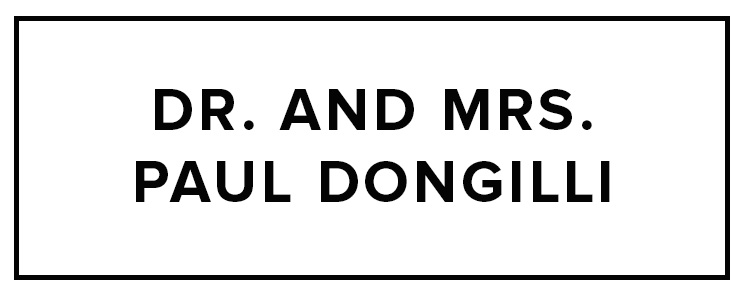Dr. & Mrs. Paul Dongilli